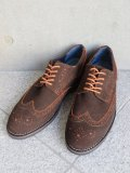 "G.H.BASS""Limoge Suede Wingtips Oxfords"""