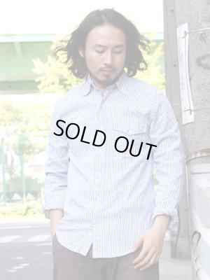 """画像5: SAVE KHAKI  """"Oxford Work Shirt(Stripe)"""""""