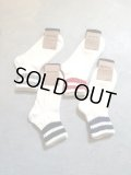 "RoToTo ""LINE SOCKS (Linen/Cotton)"""