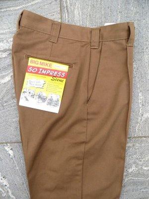"""画像1: 【BIG MIKE】""""PIN TACK CHINO PANTS"""" (COYOTE)"""