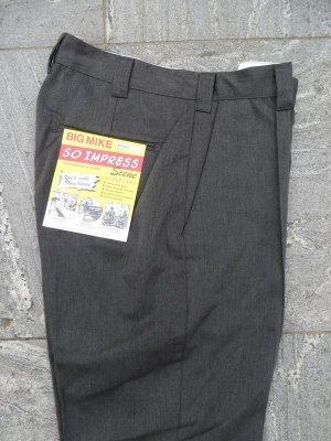 """画像1: 【BIG MIKE】""""PIN TACK CHINO PANTS"""" (MOKU GREY)"""