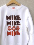 "【BIGMIKE】""ゴツMIKE SWEAT(WHITE)"""