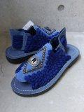 "【Chubasco】""Aztec Concho (Blue Denim) """