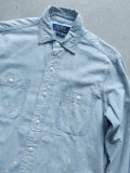 "【Ralph Lauren】""CHAMBRAY SHIRTS (PAINT)"""
